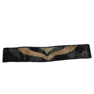 VTG La Regale hand beaded cummerbund waist belt
